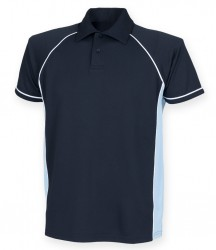 Image 7 of Finden and Hales Kids Performance Piped Polo Shirt