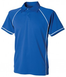 Image 11 of Finden and Hales Kids Performance Piped Polo Shirt