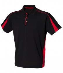 Image 2 of Finden and Hales Club Poly/Cotton Piqué Polo Shirt