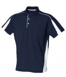 Image 3 of Finden and Hales Club Poly/Cotton Piqué Polo Shirt