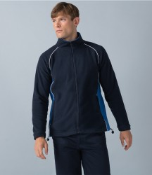 Finden and Hales Contrast Micro Fleece Jacket image