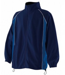 Finden & Hales Contrast Micro Fleece Jacket image