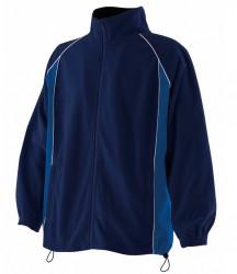 Finden & Hales Contrast Micro Fleece Jacket image