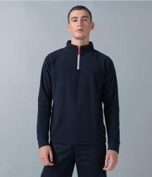 Finden & Hales Zip Neck Piped Micro Fleece image