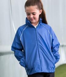 Finden and Hales Kids Showerproof Training Jacket image