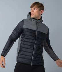 Image 1 of Finden and Hales Contrast Padded Jacket