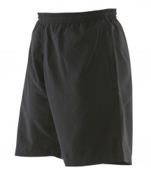 Finden & Hales Ladies Microfibre Shorts image