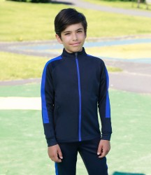 Finden and Hales Kids Knitted Tracksuit Top image