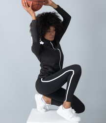 Finden and Hales Ladies Contrast Team Leggings image