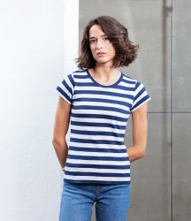 Mantis Ladies Stripy T-Shirt image