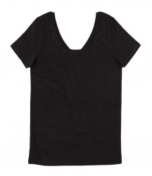 Mantis Ladies Scoop Back V Neck T-Shirt image