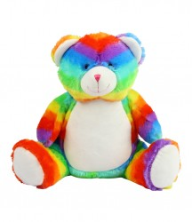 Mumbles Zippie Rainbow Bear image