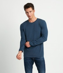 Next Level Cotton Long Sleeve Crew Neck T-Shirt image