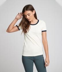 Next Level Unisex Cotton Ringer T-Shirt image