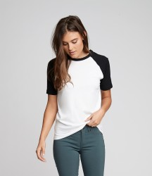 Next Level Unisex Contrast Cotton Raglan T-Shirt image