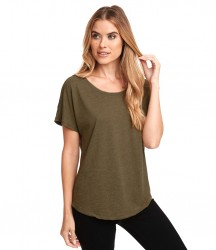 Next Level Ladies Tri-Blend Dolman T-Shirt image