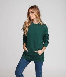 Next Level Unisex Crew Neck Pocket Sweatshirt image
