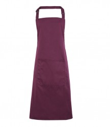 Image 11 of Premier 'Colours' Bib Apron with Pocket