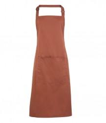 Image 17 of Premier 'Colours' Bib Apron with Pocket