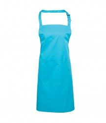 Image 7 of Premier 'Colours' Bib Apron with Pocket