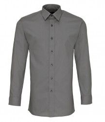 Premier Long Sleeve Fitted Poplin Shirt image
