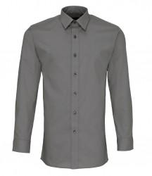 Premier Long Sleeve Fitted Poplin Shirt image