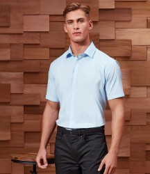 Premier Short Sleeve Stretch Fit Poplin Shirt image