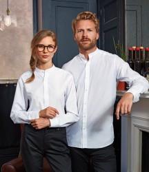 Premier Unisex Long Sleeve Grandad Shirt image