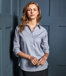Premier Ladies 3/4 Sleeve Poplin Blouse image