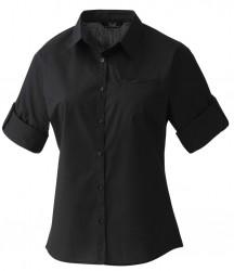 Premier Ladies 'Roll Sleeve' Poplin Blouse image