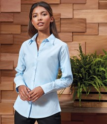 Premier Ladies Supreme Long Sleeve Poplin Shirt image