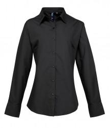 Premier Ladies Supreme Long Sleeve Poplin Shirt image