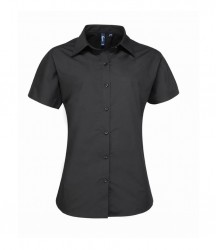 Premier Ladies Supreme Short Sleeve Poplin Shirt image