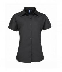 Premier Ladies Supreme Short Sleeve Poplin Shirt image