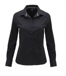 Premier Ladies Long Sleeve Fitted Friday Shirt image