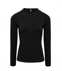 Premier Ladies Long John Roll Sleeve T-Shirt image