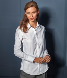 Premier Ladies Signature Long Sleeve Oxford Shirt image