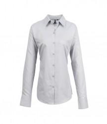 Premier Ladies Signature Long Sleeve Oxford Shirt image