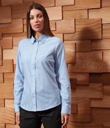 Premier Ladies Maxton Check Long Sleeve Shirt image