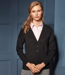Premier Ladies Essential Acrylic V Neck Cardigan image