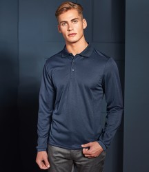 Premier Long Sleeve Coolchecker® Piqué Polo Shirt image