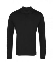 Premier Long Sleeve Coolchecker® Piqué Polo Shirt image