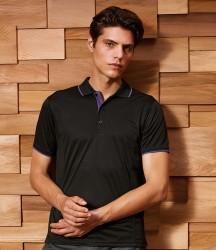 Premier Contrast Coolchecker® Piqué Polo Shirt image