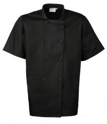 Image 2 of Premier Short Sleeve Chef's Jacket