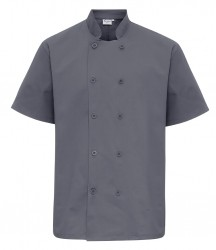 Image 3 of Premier Short Sleeve Chef's Jacket