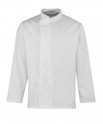 Premier Culinary Long Sleeve Pull On Chef's Tunic image