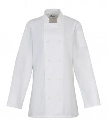Premier Ladies Long Sleeve Chef's Jacket image