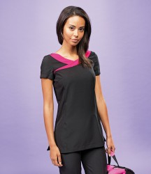 Premier Ladies Ivy Short Sleeve Tunic image