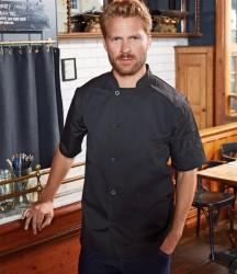 Premier Essential Short Sleeve Chef's Jacket image