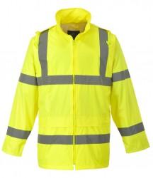 Portwest Hi-Vis Rain Jacket image